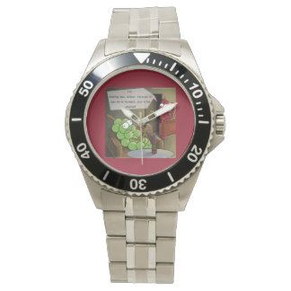 Grape Divorce Funny Watches