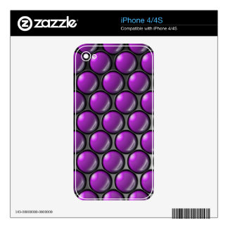 Grape Drops Phone Skin Skins For iPhone 4S