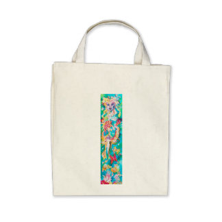 GRAPE FAIRY TALE CANVAS BAG