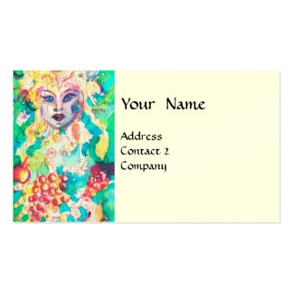 GRAPE FAIRY TALE cream Double-Sided Standard Business Cards (Pack Of 100)