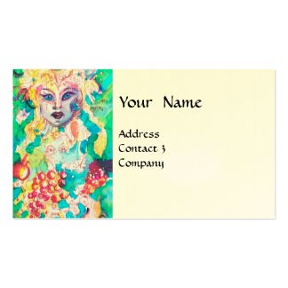 GRAPE FAIRY TALE eggshell Double-Sided Standard Business Cards (Pack Of 100)