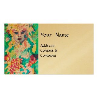 GRAPE FAIRY TALE gold Double-Sided Standard Business Cards (Pack Of 100)