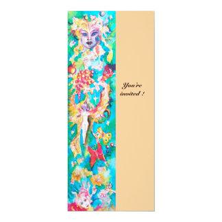 GRAPE FAIRY TALE pink blue fucsia white Card