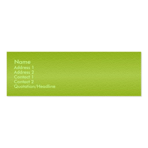 Grape Green Sandstone Profile Card Business Card Templates