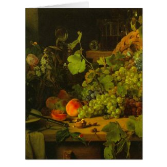 Grape Harvest 1843 Card