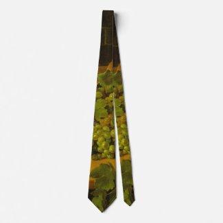 Grape Harvest 1843 Neck Tie