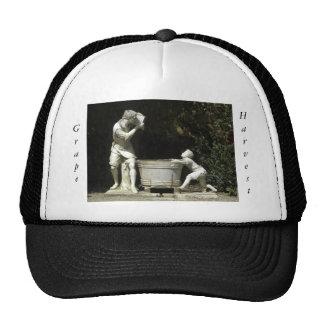 Grape Harvest Fountain Trucker Hat