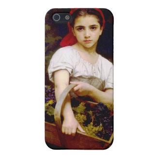 Grape Harvester, William Bouguereau iPhone SE/5/5s Case