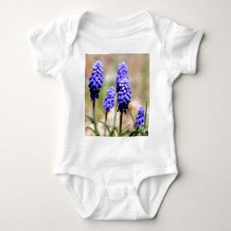 Grape Hyacinth Baby Bodysuit