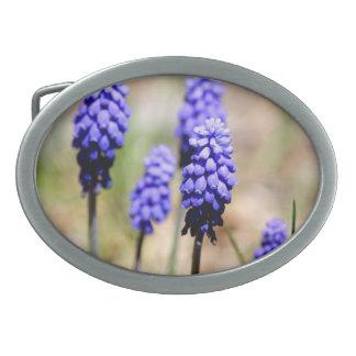 Grape Hyacinth Belt Buckle