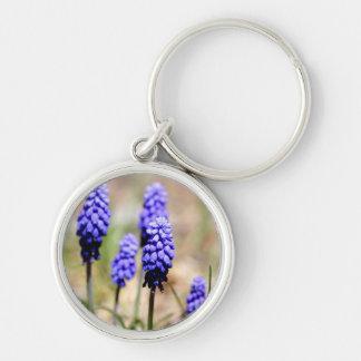 Grape Hyacinth Keychain