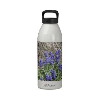 Grape Hyacinth Water Bottles
