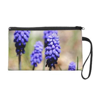 Grape Hyacinth Wrislet Wristlet Purse