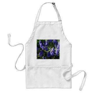 Grape Hyacinths Adult Apron