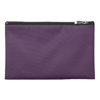 GRAPE JUICE (a solid deep purple color) ~ Travel Accessory Bag