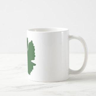 Grape Leaf Coffee Mug