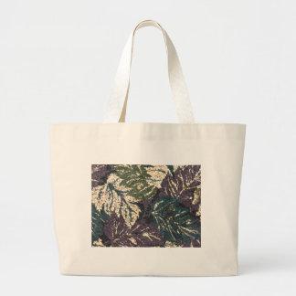 Grape Leaves Large Tote Bag