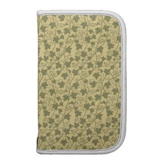 Grape Leaves (Leaf), Dots, Swirls - Green Yellow Planner