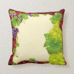 Grape Leaves Pillow