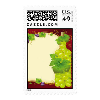Grape Leaves Postage