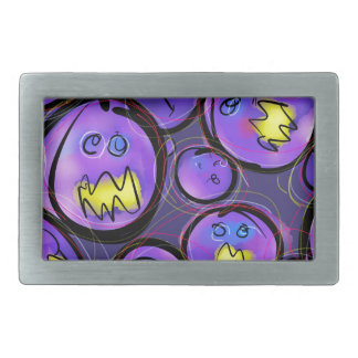 Grape Nutes Rectangular Belt Buckle