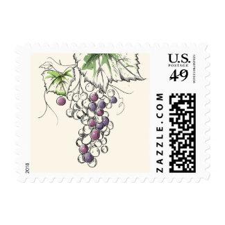 Grape on Vine Postage