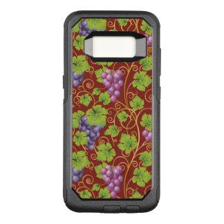 Grape Pattern OtterBox Commuter Samsung Galaxy S8 Case