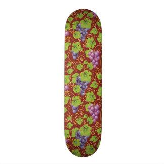 Grape Pattern Skateboard Deck