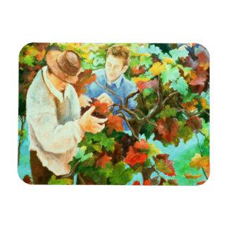 Grape Pickers 1996 Magnet