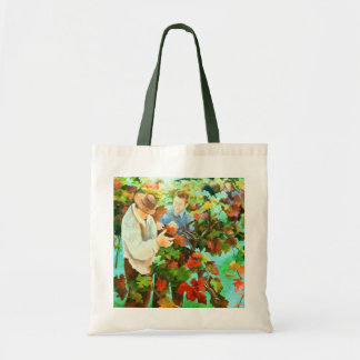 Grape Pickers 1996 Tote Bag