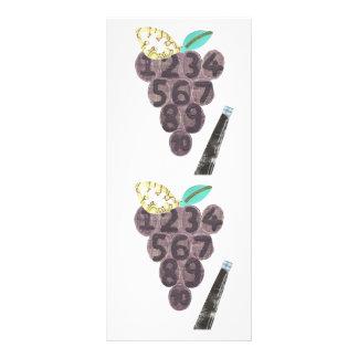 Grape Pool Rackcard Rack Card