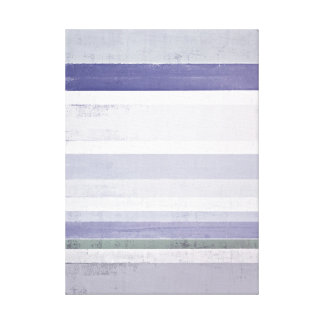 'Grape' Purple and Grey Abstract Art Canvas Print