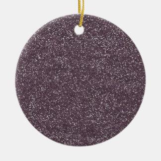 GRAPE purple BEE MINE GLITTER TEXTURE BACKGROUND T Ornament