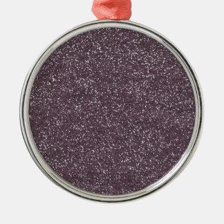 GRAPE purple BEE MINE GLITTER TEXTURE BACKGROUND T Christmas Ornament