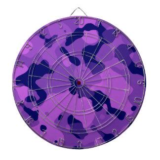 Grape Purple Camo; Camouflage Dartboards