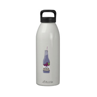 Grape Soda Drinking Bottle