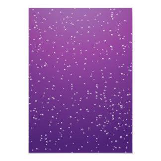 Grape Soda with Tiny Bubbles Background Art Card