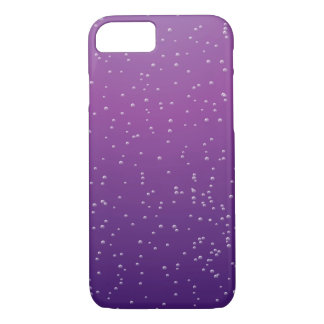 Grape Soda with Tiny Bubbles iPhone 7 Case