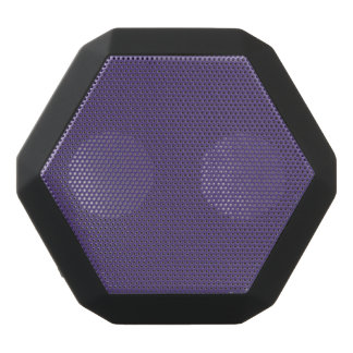 Grape Solid Color Black Bluetooth Speaker