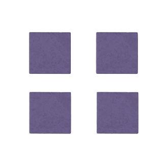 Grape Solid Color Stone Magnet