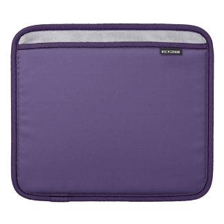 Grape Solid Color iPad Sleeve