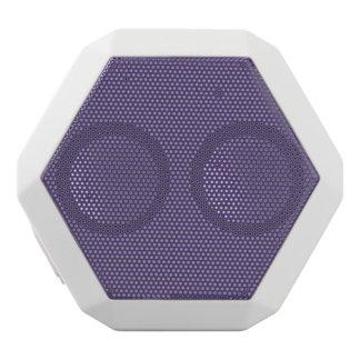 Grape Solid Color White Bluetooth Speaker