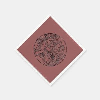 Grape Stompers - napkin