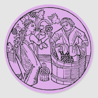 Grape Stompers stickers