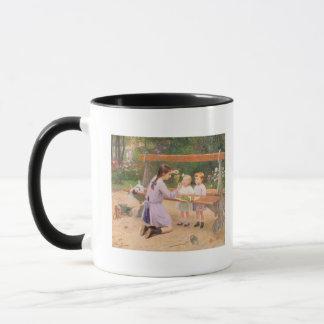 Grape tasting mug