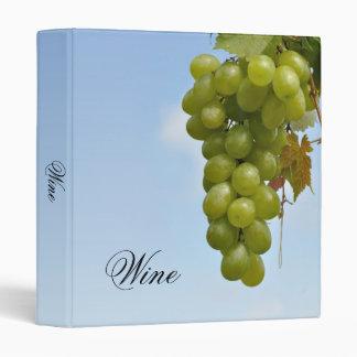 """Grape vine 1"""" binder"""