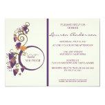 Grape Vine Bridal Shower Invitation