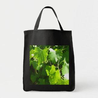 Grape Vine Grocery Tote Bag