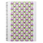 Grape & Vine Pattern Photo Notebook