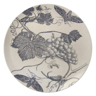 Grape Vine Serving Dish Plate